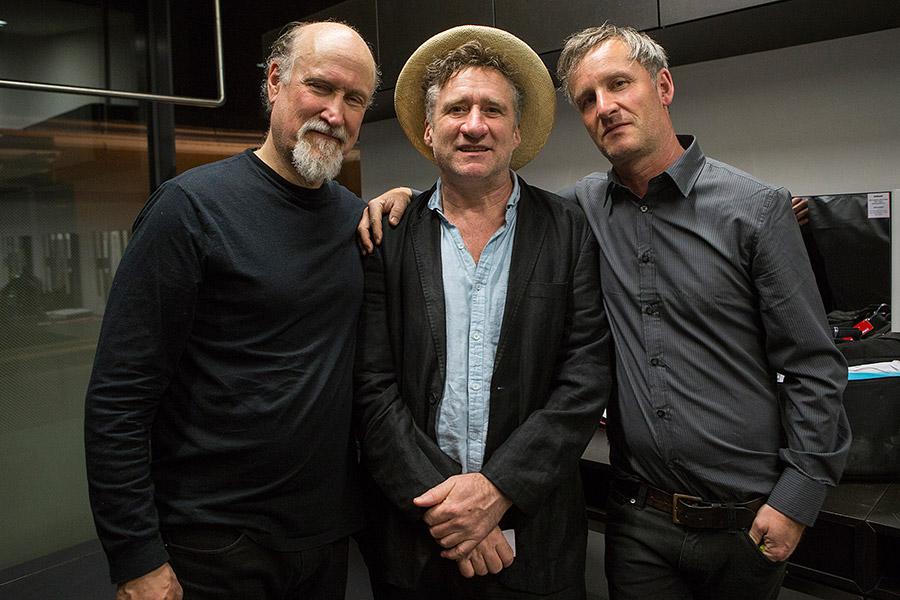 John Scofield, Jon Cleary und Christoph Jaritz (c) Peter Purgar