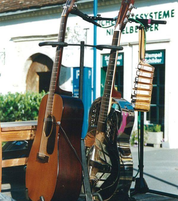 Eric Trauner und Siggi Fassl (Mojo Blues Band)